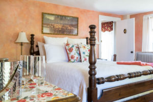 details in guest room at Candleberry Inn
