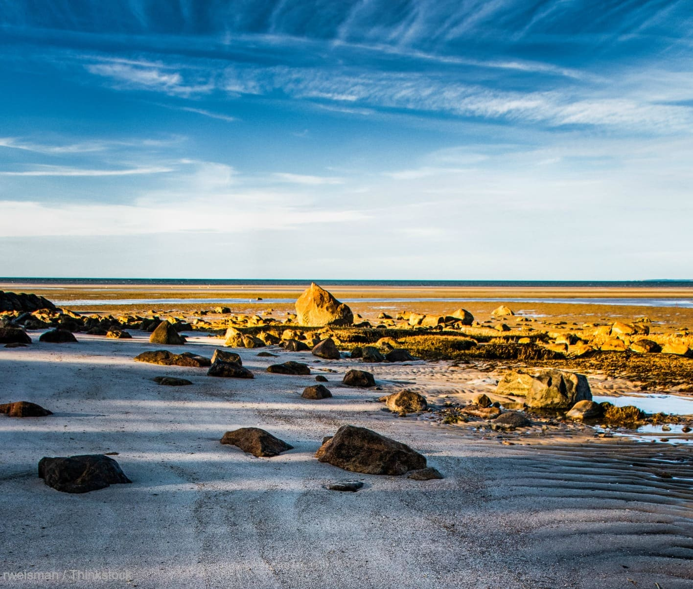 Hotels In Cape Cod On Beach: Brewster Flats In Massachusetts