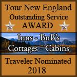 Tour New England Outstanding Service Award 2018