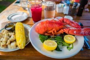 Mattakeese Wharf Restaurant Barnle Ma Lobster Dinner