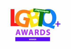 LGBTQ+ award winner logo
