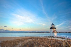 View of a lighthouse you can discover in Brewster or Hyannis