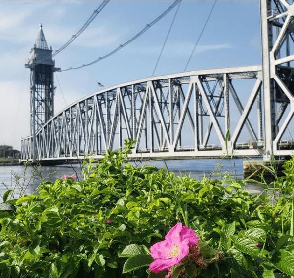 Cape Cod Canal Railroad Bridge - picture on Cape Cod