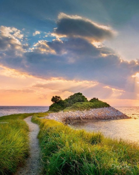 The Knob on Falmouth - instagrammable Cape Cod photo spot