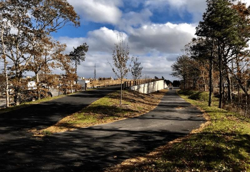 Indian Lands Conservation Area - Cape Cod Trail Rail