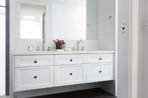 modern bathroom plan for candleberry inn cape cod