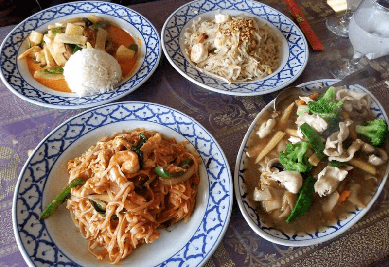 enjoy casual dining at Bangkok Kitchen - one of the best Cape Cod restaurants