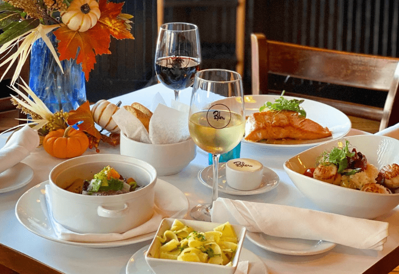 Bleu - one of the best Cape Cod fine dining restaurants