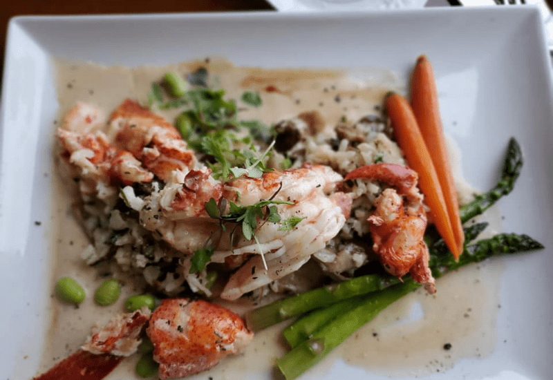 enjoy fine dining at The Mews restaurant in Cape Cod