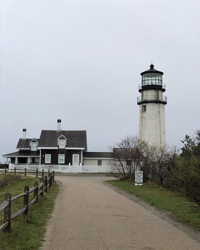 Truro Highland Light on Route 6A