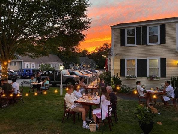 Fin Cape Cod romantic restaurant