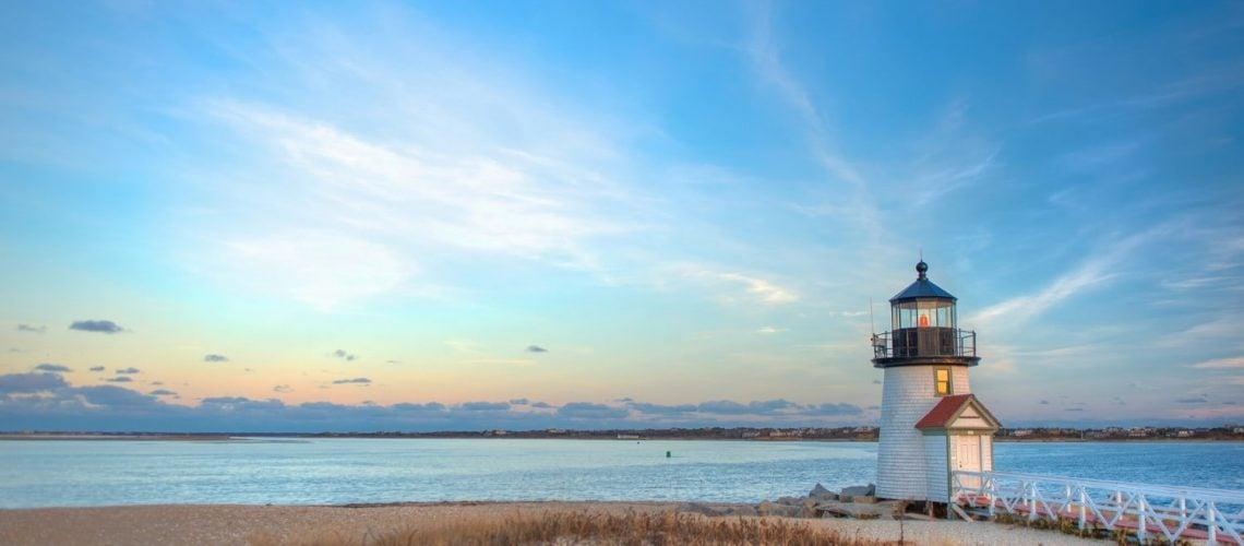 Cape Cod Lighthouse near Mass Audubon Wildlife Sanctuary