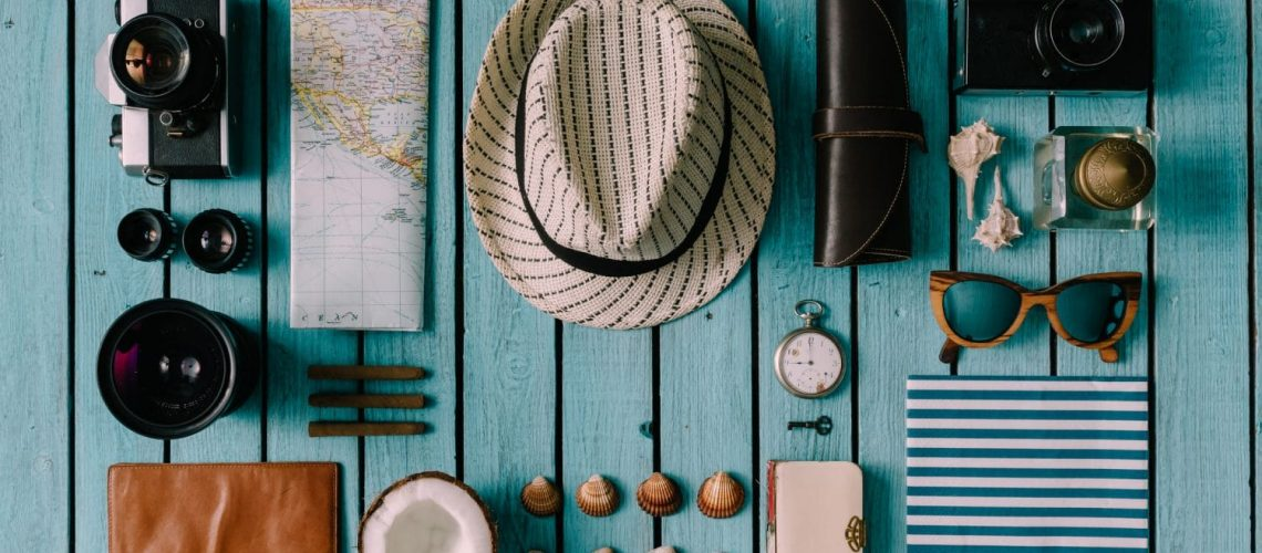 accessories on a Cape Cod Packing List