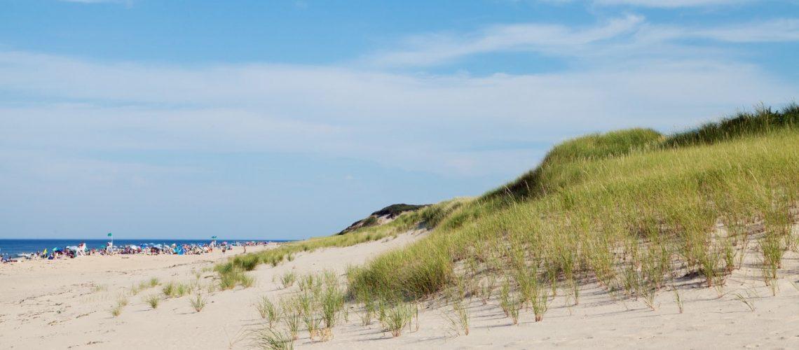 Coast Guard Beach in Cape Cod